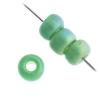 Miyuki Seed Bead 6/0 Frost Green Rainbow